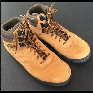 Vasque Alpha Suede Leather Hiking Boots VTG 90's
